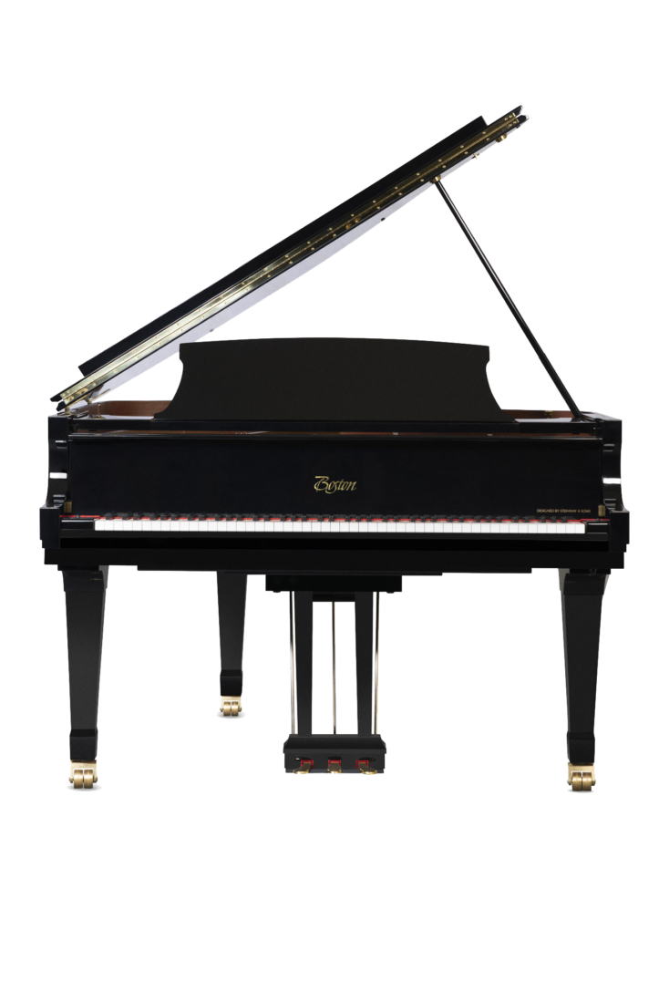 piano-cola-boston-gp163-profesional-nuevo-performance-edition-negro-frontal