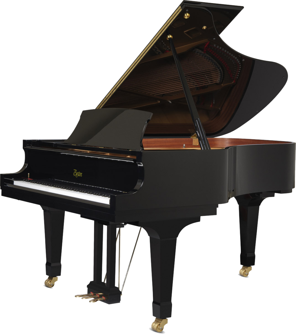 piano-cola-boston-gp193-profesional-nuevo-performance-edition-negro-frontal