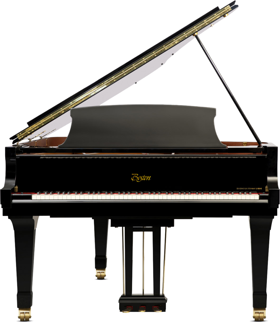 piano-cola-boston-gp215-profesional-nuevo-negro-frontal