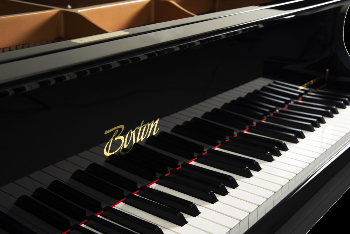 piano-cola-boston-gp215-profesional-nuevo-negro-teclado