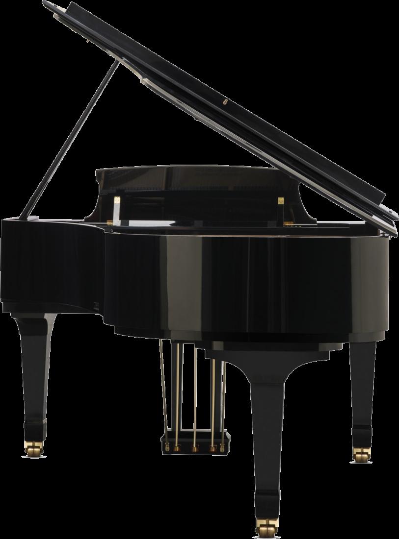 piano-cola-boston-gp215-profesional-nuevo-negro-trasera