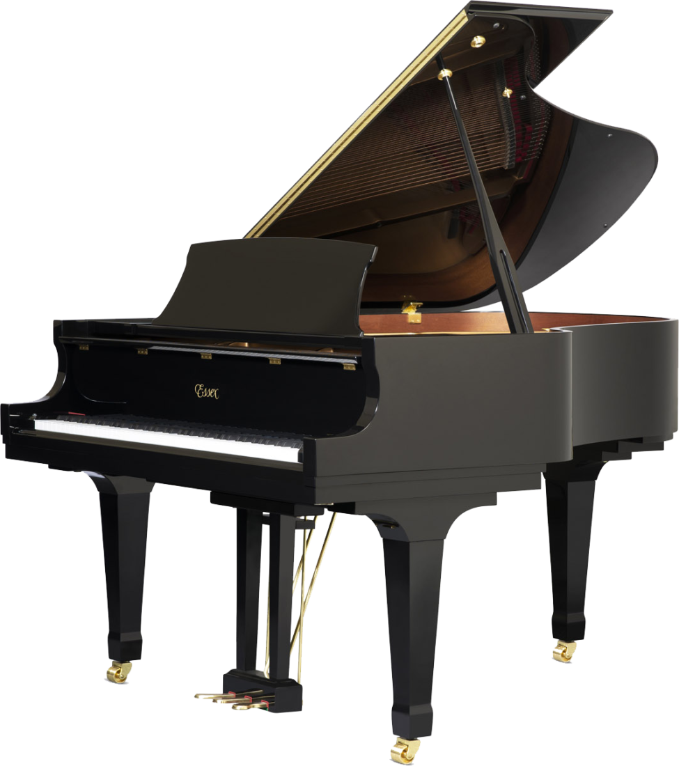 piano-cola-essex-egp173-nuevo-negro-frontal