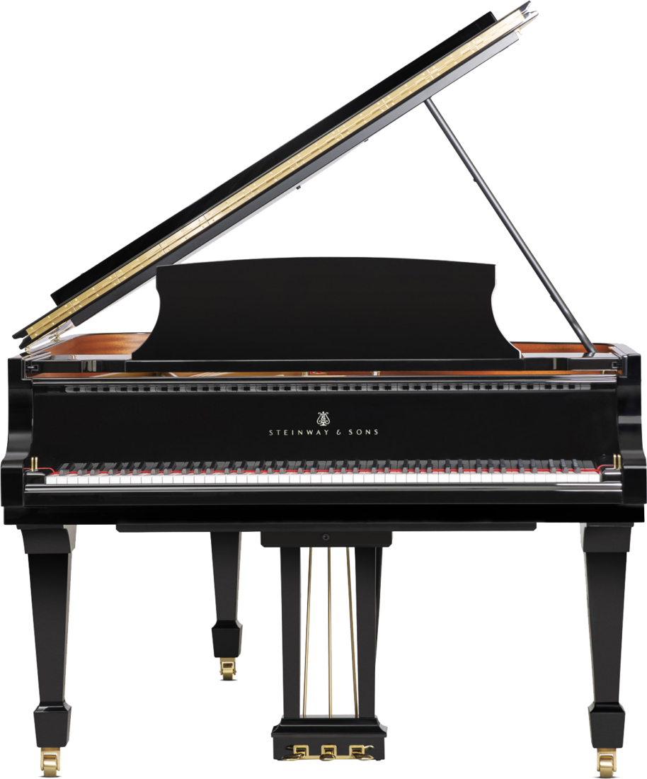 piano-cola-steinway-sons-a188-artesanal-nuevo-negro-frontal