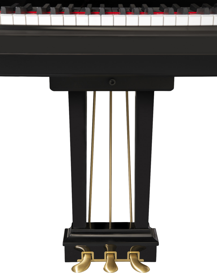 piano-cola-steinway-sons-c227-artesanal-nuevo-negro-pedales