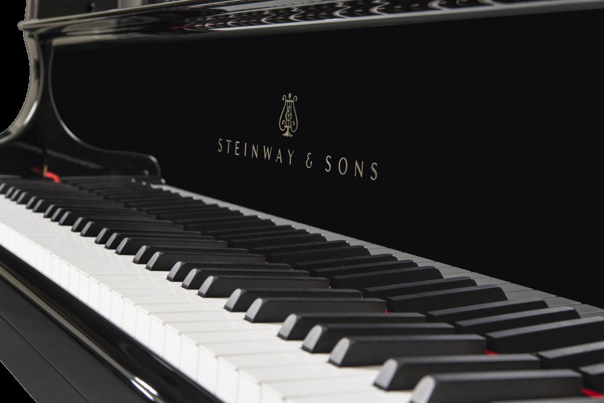 piano-cola-steinway-sons-c227-artesanal-nuevo-negro-teclado
