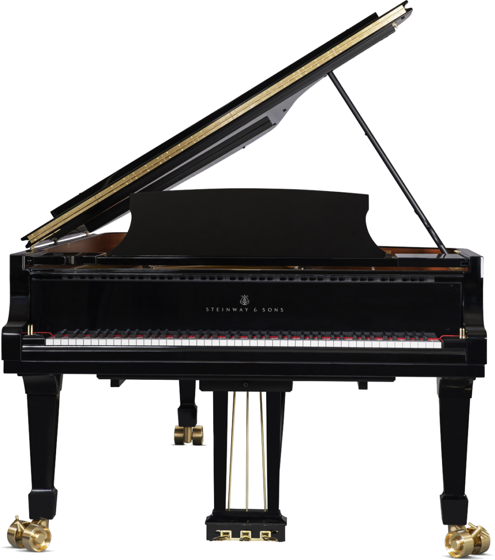 piano-cola-steinway-sons-d274-artesanal-nuevo-negro-frontal