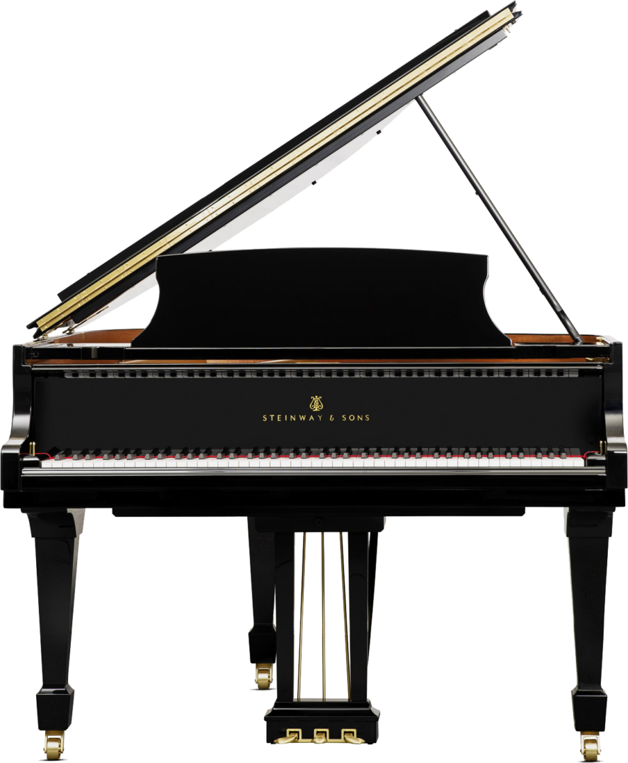 piano-cola-steinway-sons-s155-artesanal-nuevo-negro-frontal