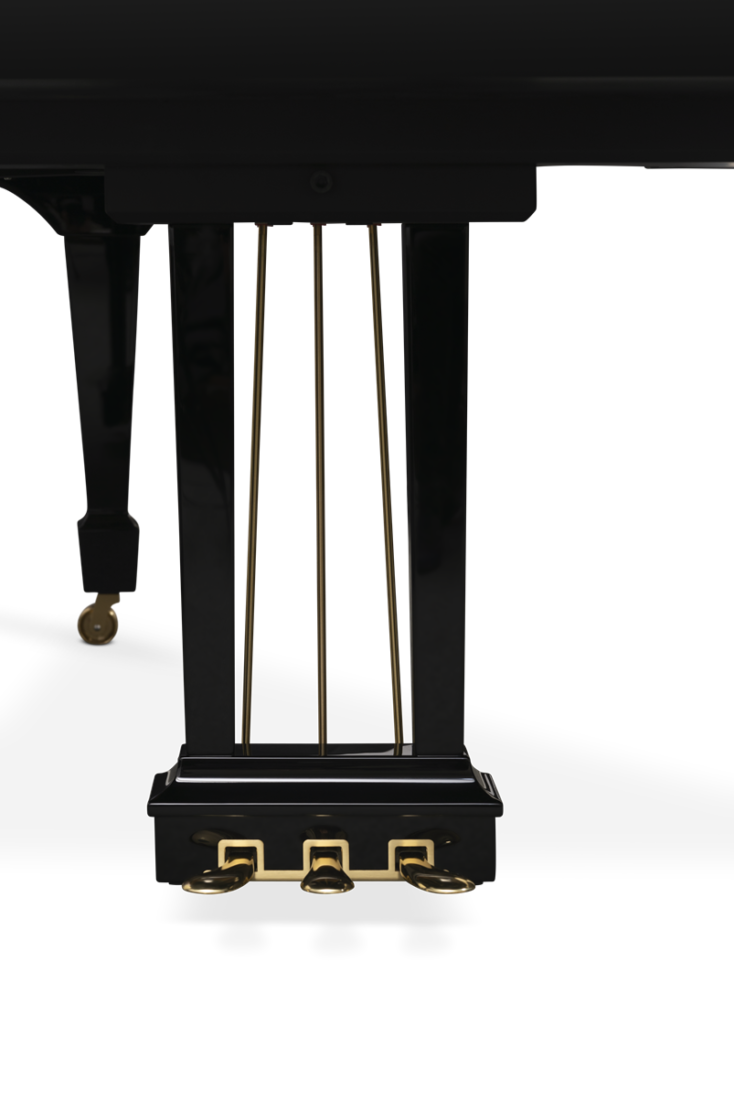 piano de cola Steinway & Sons m170 pedales