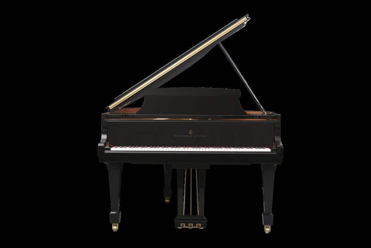 piano de cola Steinway & Sons m170 plano frontal