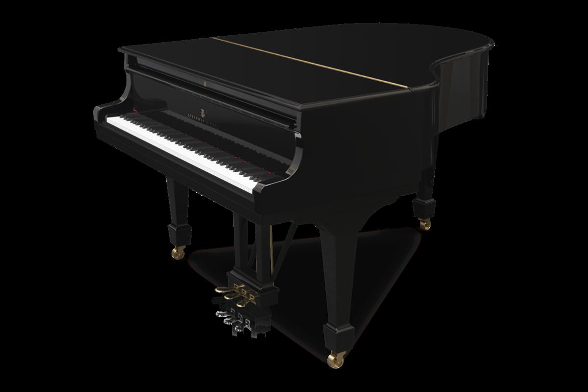 piano de cola Steinway & Sons m170 plano general tapa cerrada