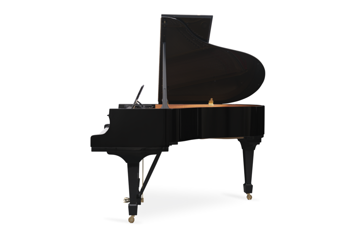 piano de cola Steinway & Sons m170 plano lateral
