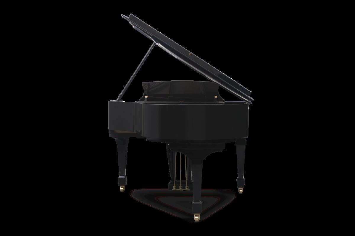 piano de cola Steinway & Sons m170 plano trasero