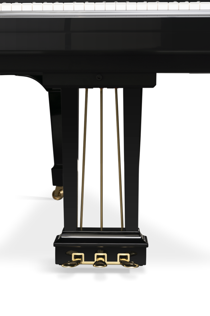 piano de cola Steinway & Sons O180 pedales