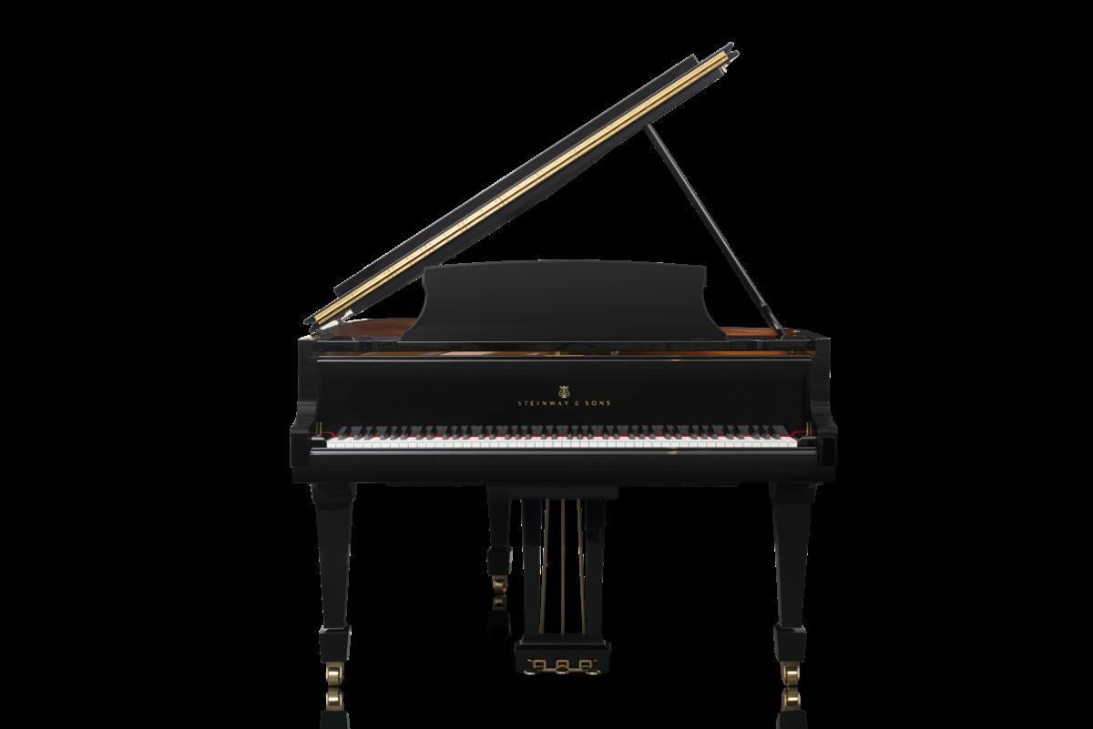 piano de cola Steinway & Sons O180 plano frontal