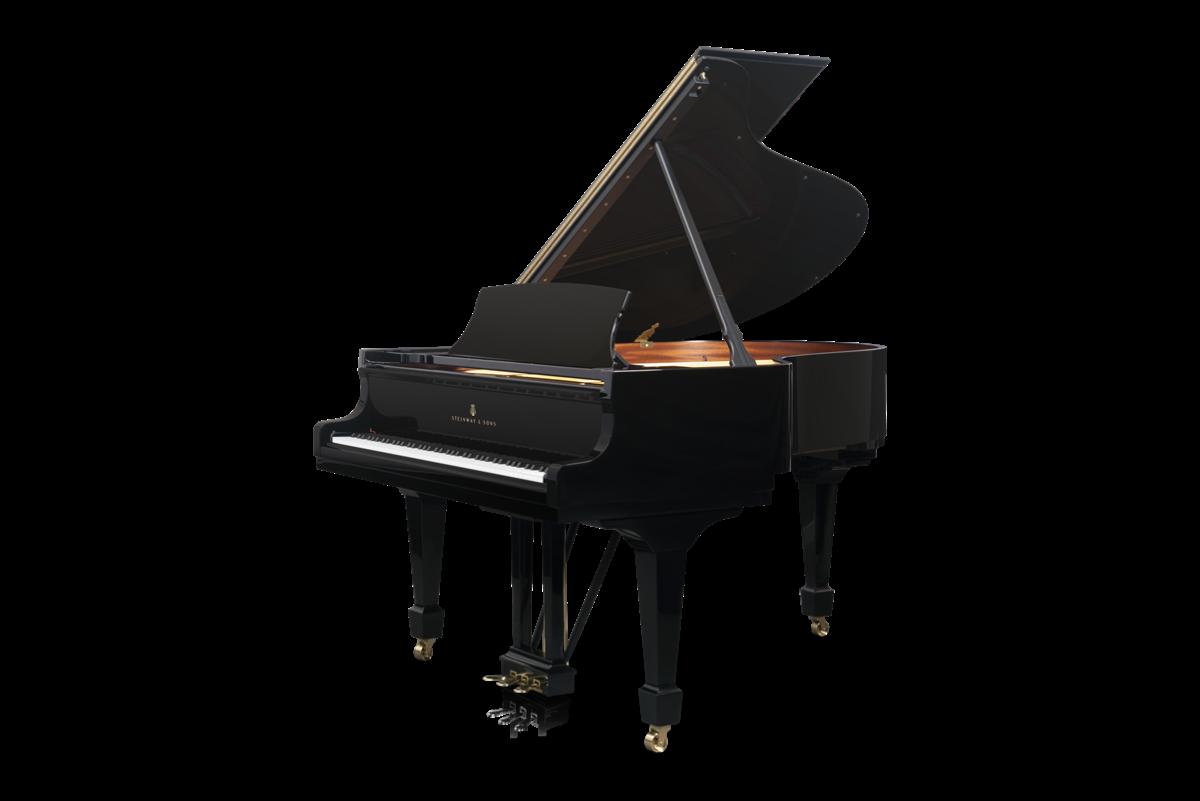 piano de cola Steinway & Sons O180 vista general