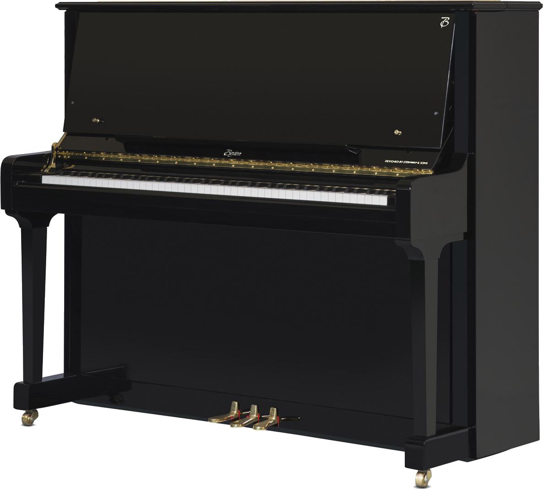 piano-vertical-boston-up126-profesional-nuevo-negro-frontal-02 copia