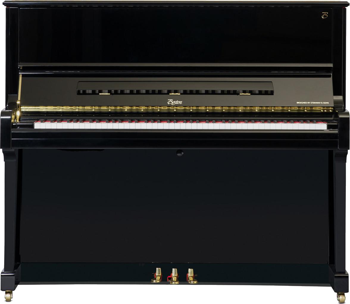 piano-vertical-boston-up126-profesional-nuevo-negro-frontal04 copia