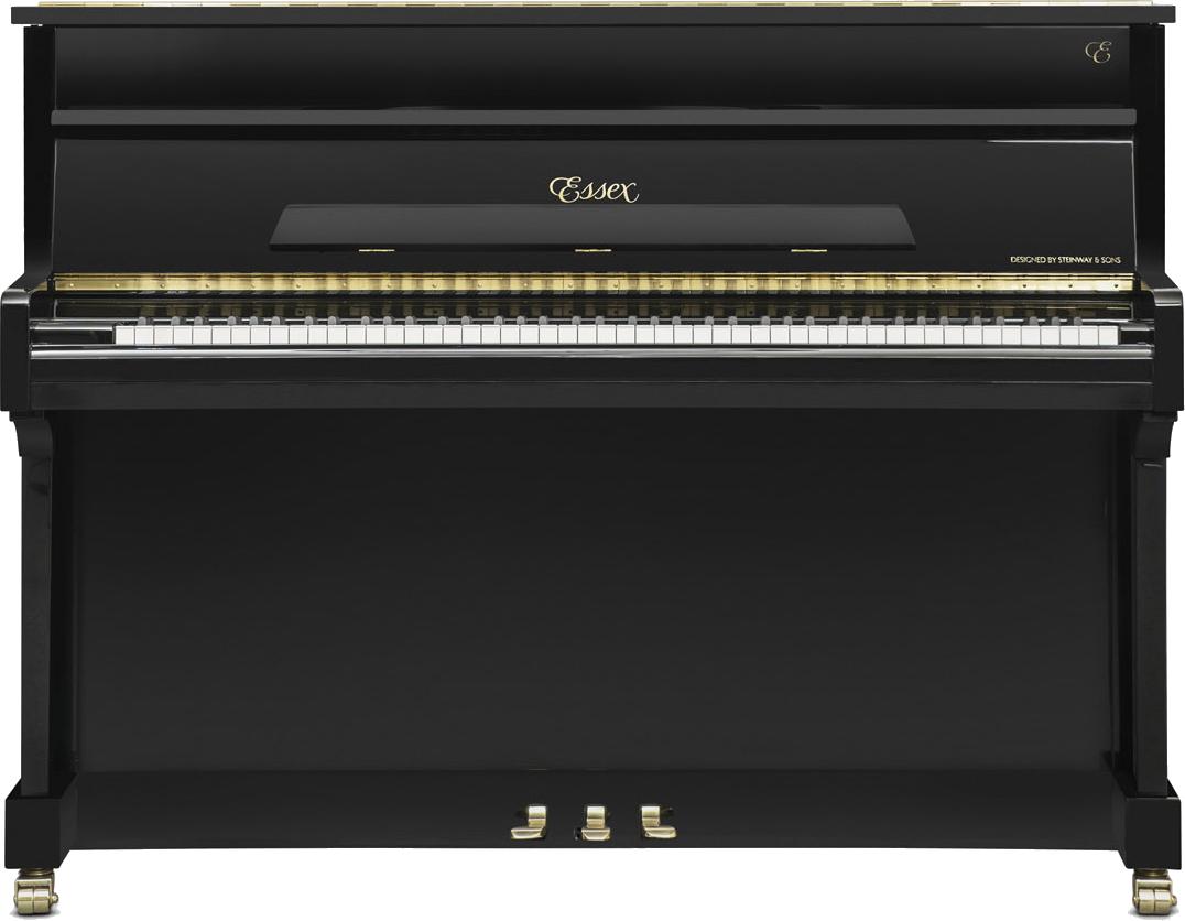 piano-vertical-essex-eup111-nuevo-negro-frontal