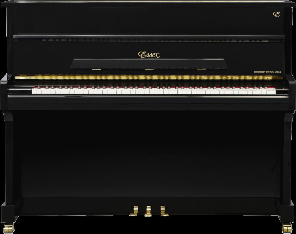 piano-vertical-essex-eup116-nuevo-negro-frontal