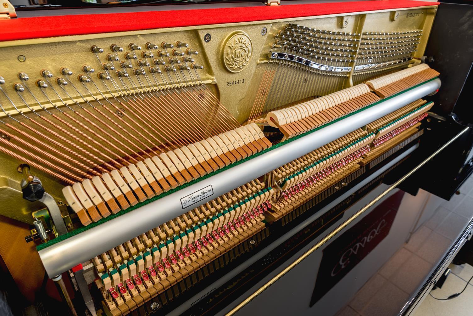 KAWAI-K35-Silent-2544413 mecánica piano cuerdas martillos clavijero clavijas