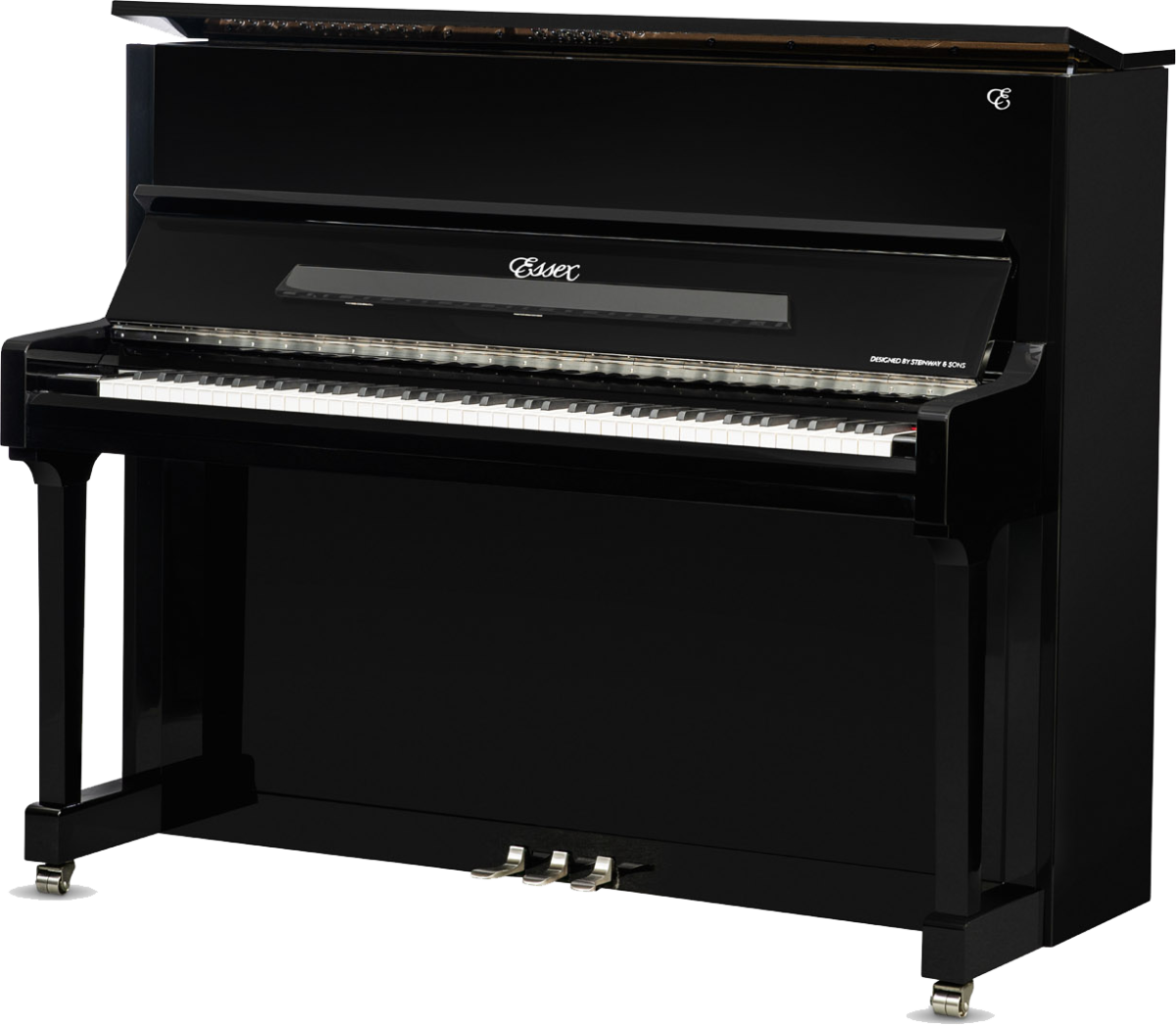 piano-vertical-essex-eup123-chrome-nuevo-negro-plata-frontal-02