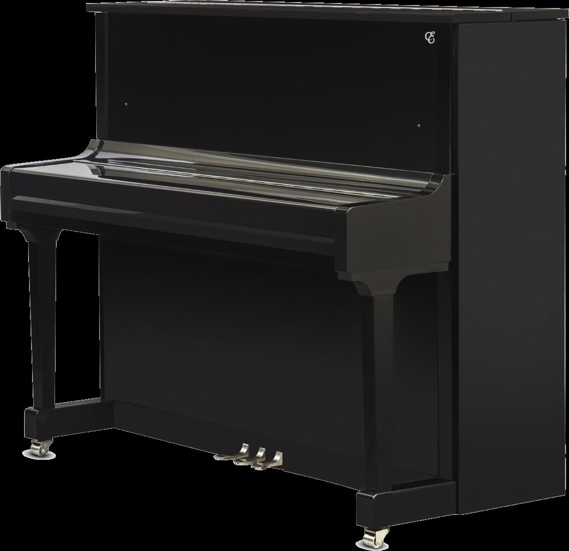 piano-vertical-essex-eup123-chrome-nuevo-negro-plata-frontal-03