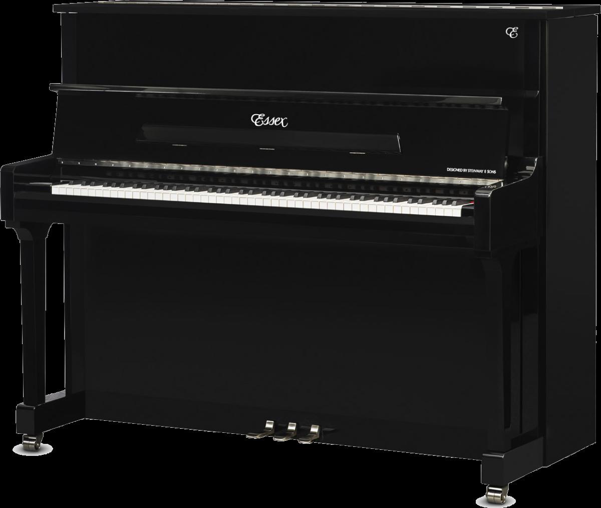 piano-vertical-essex-eup123-chrome-nuevo-negro-plata-frontal