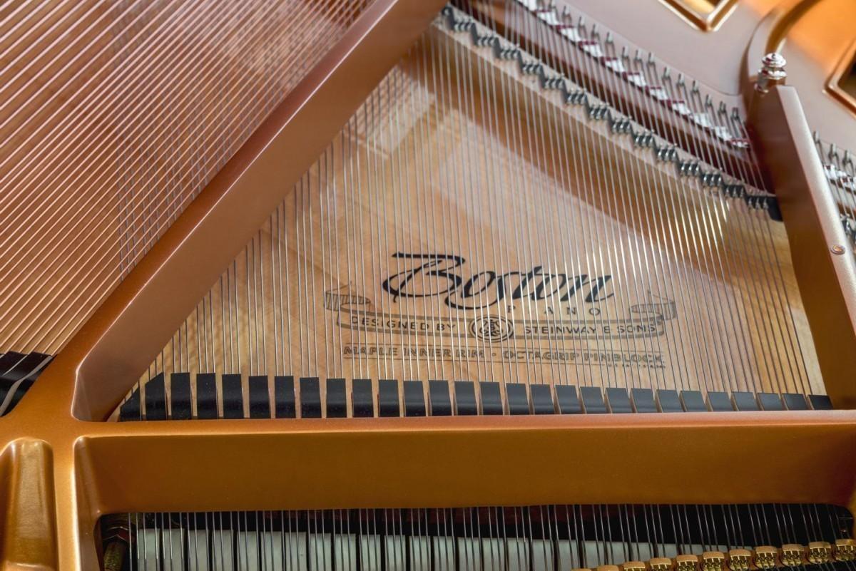 BOSTON GP-178 #189335 detalle piano cuerdas martillos apagadores