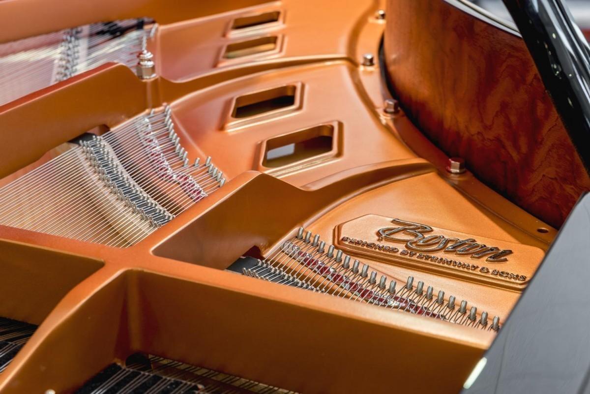 BOSTON GP-178 #189335 arpa piano cuerdas detalle mecánica