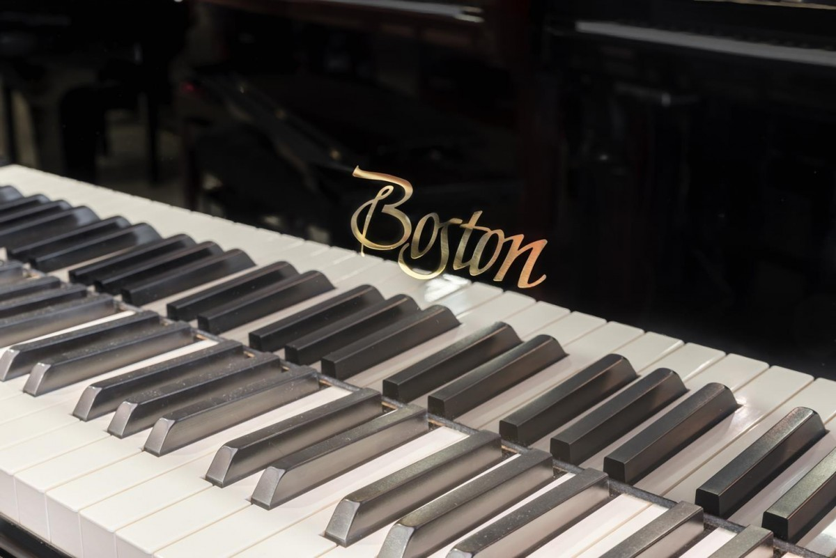 BOSTON GP-178 #189335 detalle piano teclado teclas marca