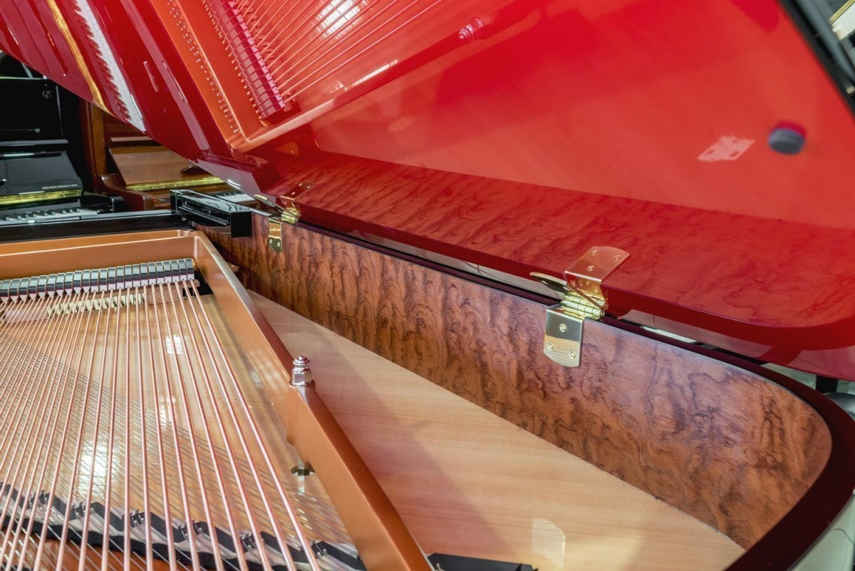BOSTON GP-178 #189335 detalle piano tapa cuerdas arpa
