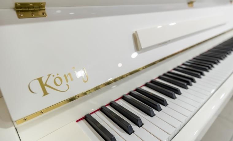 KÖNIG-K109-118411 detalle marca piano teclado teclas