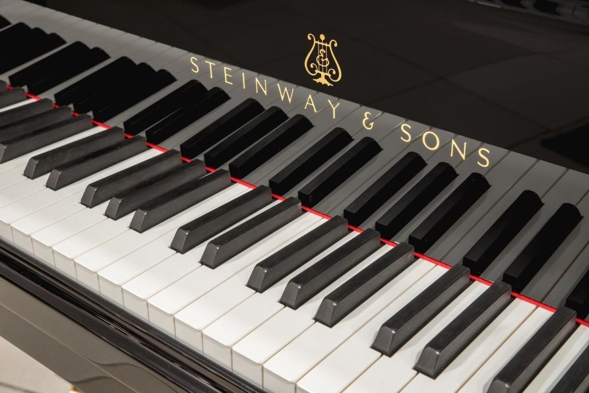 Steinway & Sons Spirio O180 #608031 marca teclas teclado