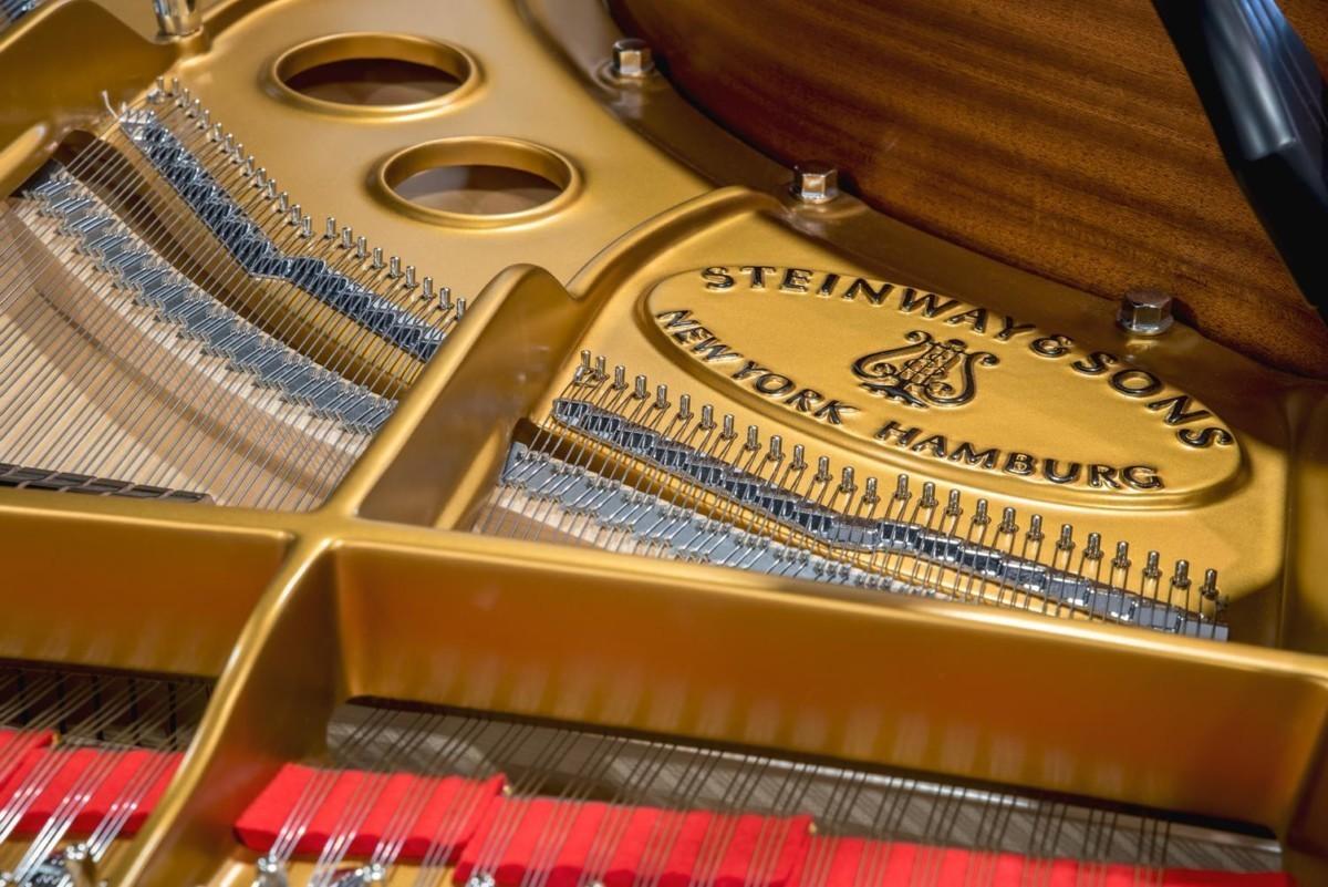 Steinway & Sons Spirio O180 #608031 arpa fieltro cuerdas