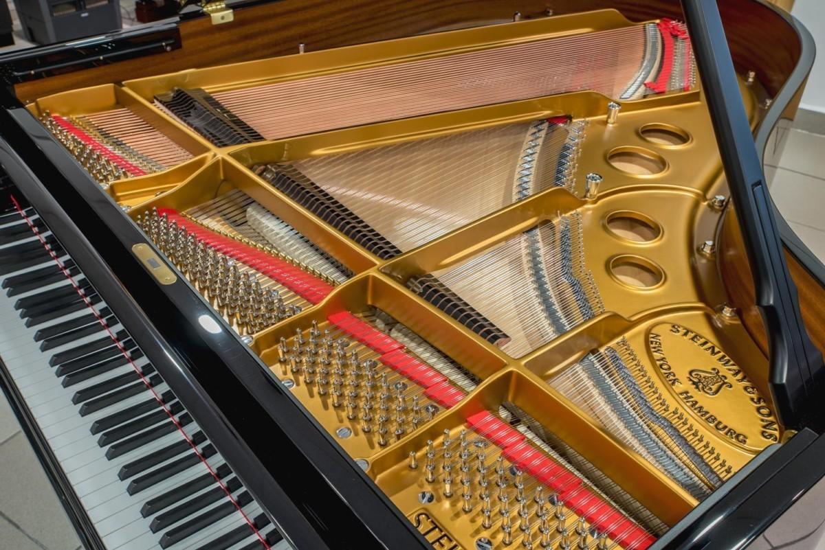 Steinway & Sons Spirio O180 #608031 mecánica clavijero cuerdas tabla armónica