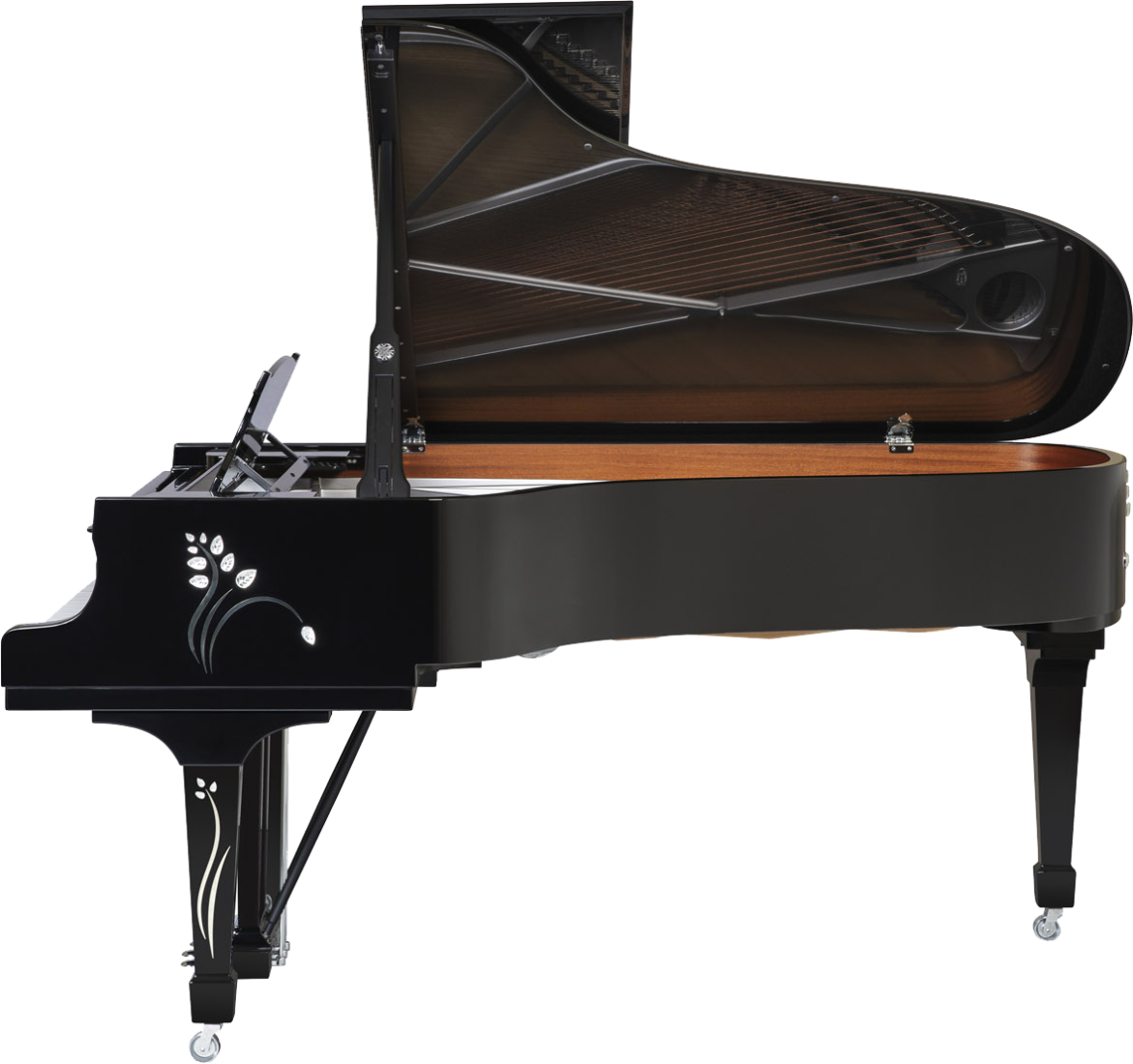 piano-cola-steinway-sons-b211-artesanal-heliconia-lalique-nuevo-edicion-limitada-negro-lateral