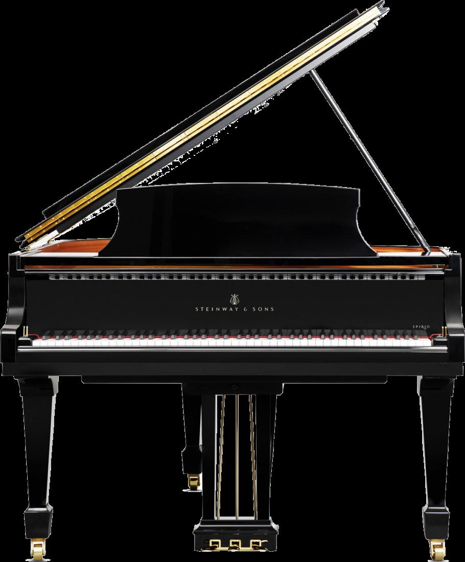 piano-cola-steinway-sons-o180-spirio-artesanal-negro-frontal
