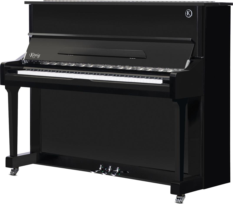 piano-vertical-konig-l122-nuevo-negro-frontal