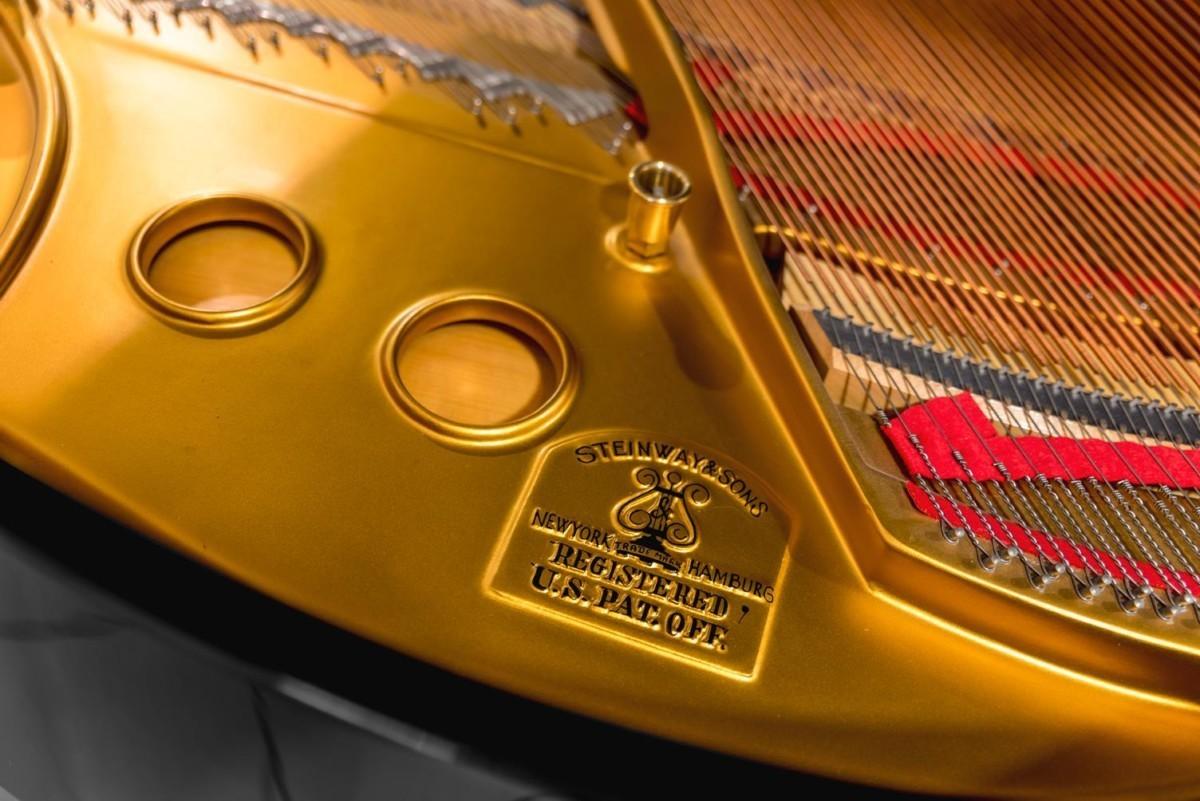STEINWAY-S-155-422048 mecánica cuerdas arpa detalle piano