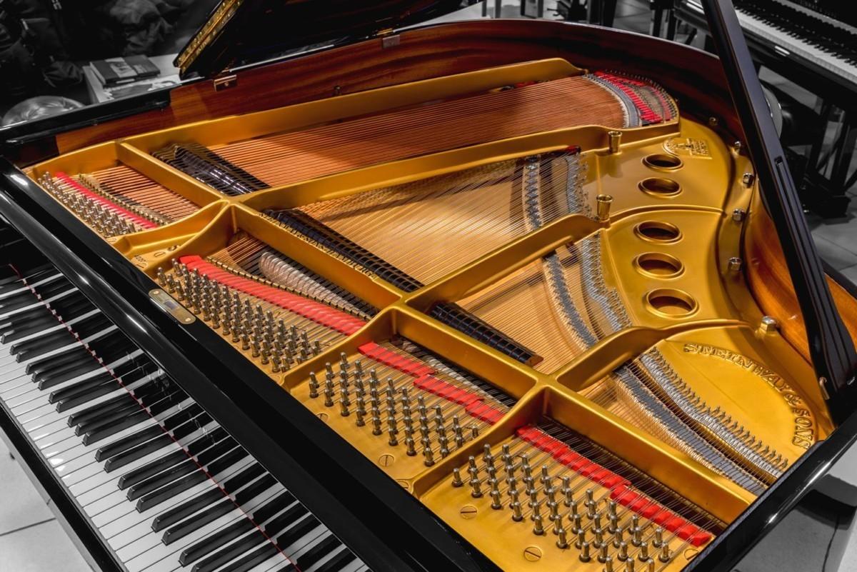 STEINWAY-S-155-422048 mecánica piano cuerdas teclas clavijero clavijas