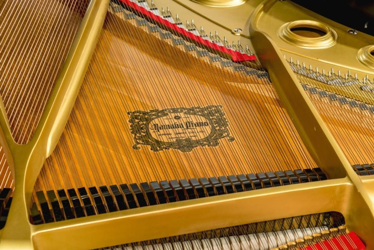 Yamaha C7 #3510313 tabla armónica apagadores cuerdas martillos