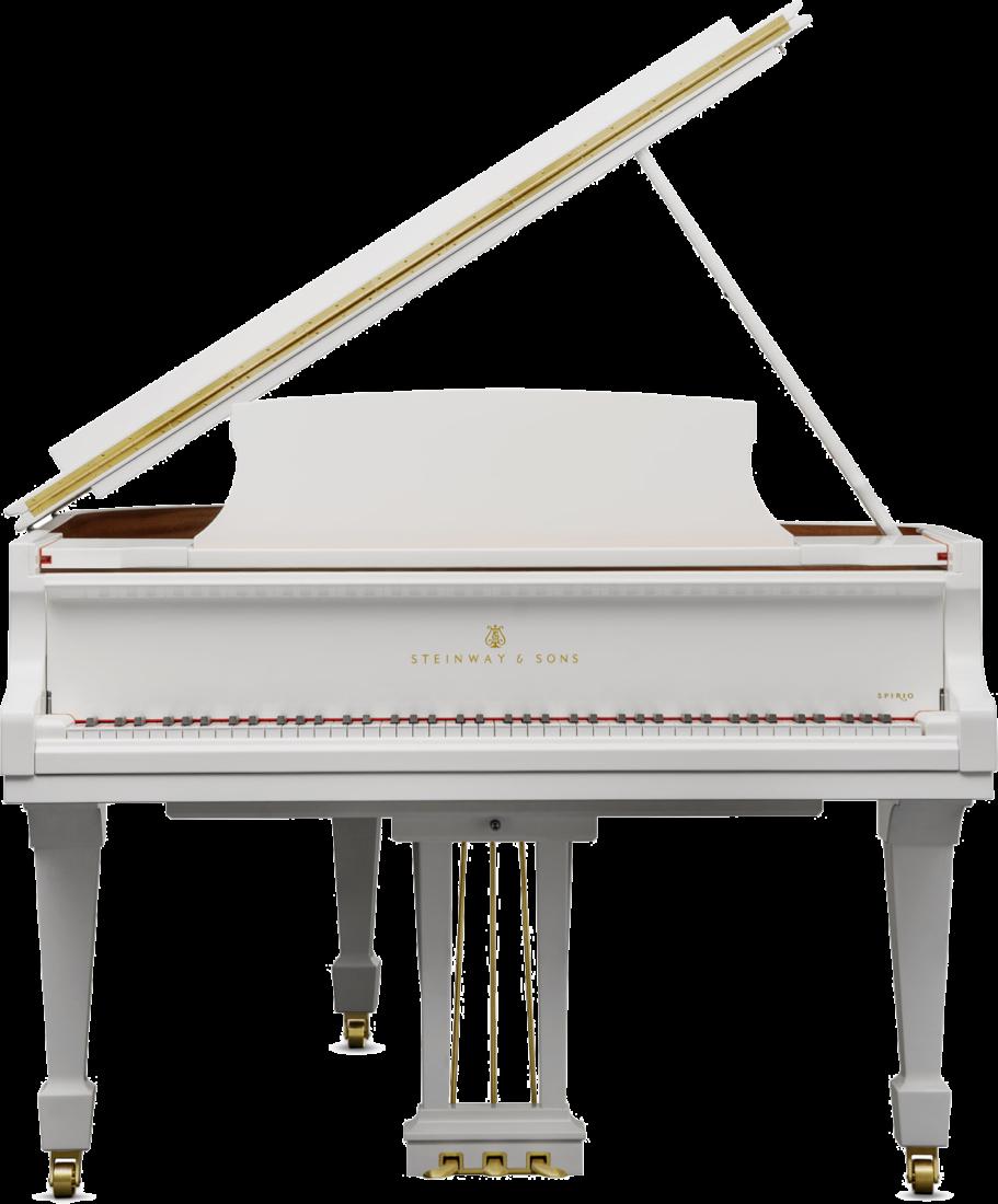 piano-cola-steinway-sons-o180-spirio-artesanal-nuevo-blanco-frontal