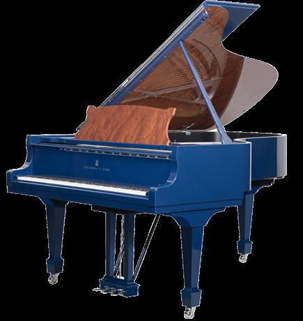 piano-cola-steinway-sons-b211-spirio-artesanal-blue-nuevo-azul-unico-edicion-limitada-frontal-3D