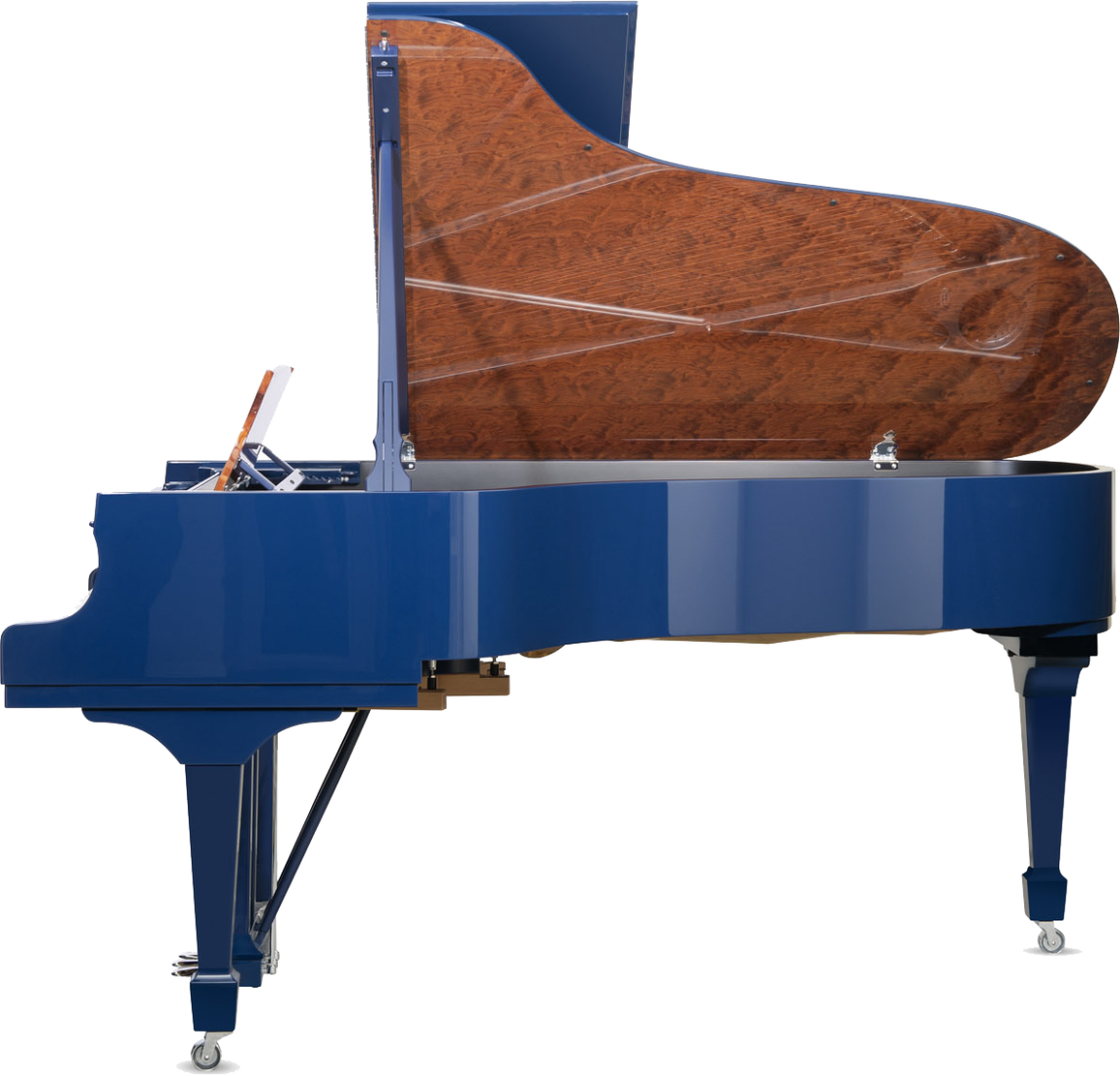 piano-cola-steinway-sons-b211-spirio-artesanal-blue-nuevo-azul-unico-edicion-limitada-lateral