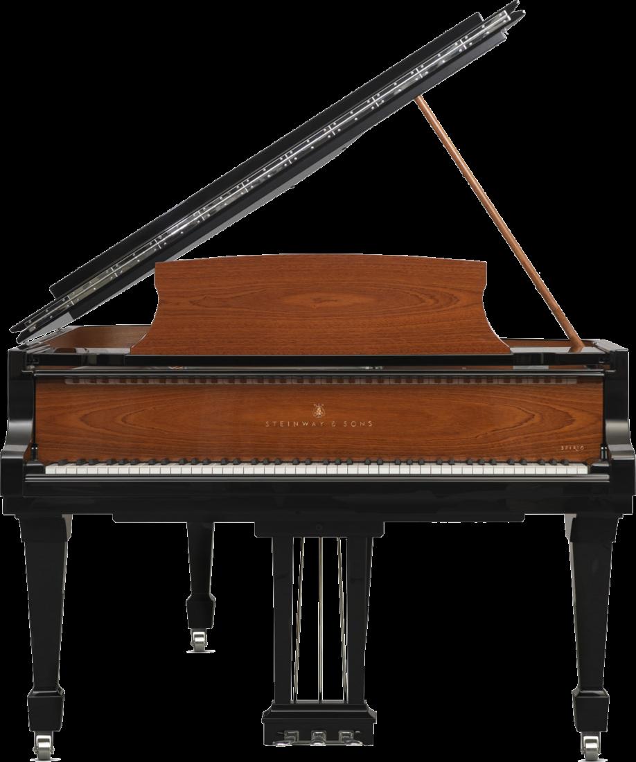 piano-cola-steinway-sons-b211-spirio-artesanal-165th-anniversary-edicion-especial-nuevo-negro-caoba-sapeli-frontal