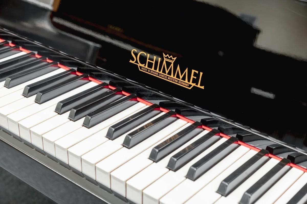 SCHIMMEL 112 #155974 teclado piano detalle teclas teclado