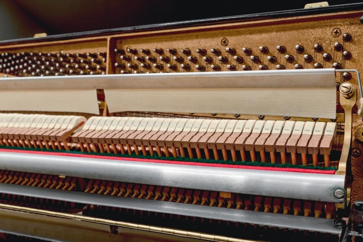 SCHIMMEL 112 #155974 mecánica piano martillos clavijas clavijero