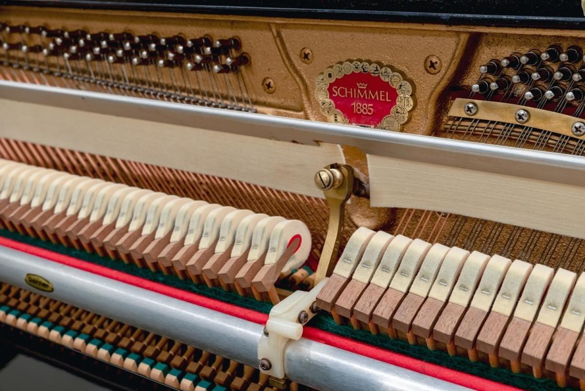 SCHIMMEL 112 #155974 martillos clavijero clavijas mecánica piano