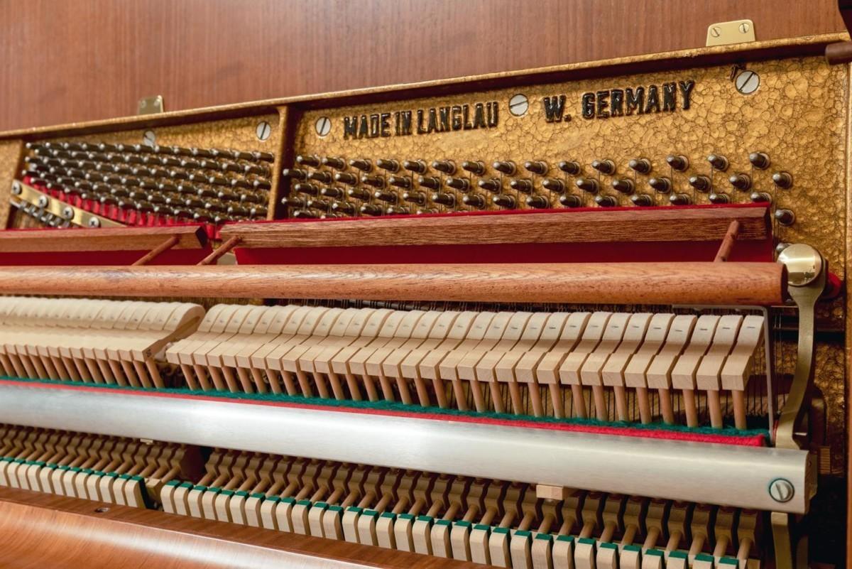 W.HOFFMANN-110-121558 mecánica piano martillos clavijero
