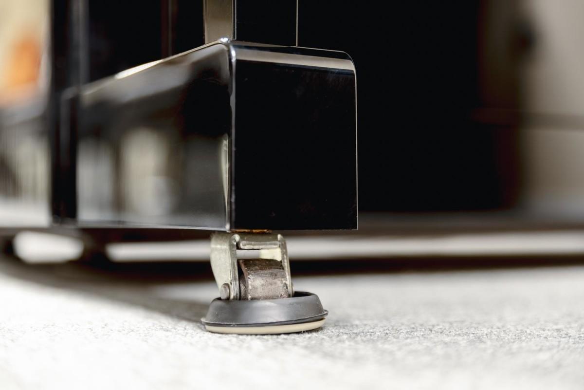 YAMAHA-YU11-6216931 pata piano rueda